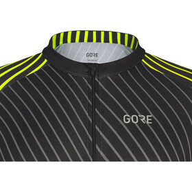 GORE WEAR C3 Jersey Herren black/neon yellow